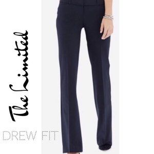 Limited Drew Fit Navy Pinstriped Trouser
